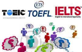 CHỨNG CHỈ TOEIC, IELTS, TOEFL